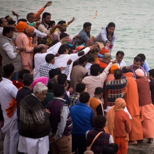 Funeral at Ganga India